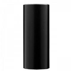 Combirohr 6 cm, 2 Innengewinde, Alu schwarz