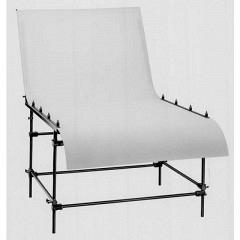 Aufnahmetisch, gross, Breite 130 cm, Oberseite reflexionsfre