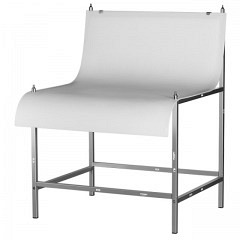 Aufnahmetisch, klein, Breite 90.5 cm, Oberseite reflexionsfr