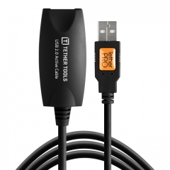 TetherPro USB 2.0 Active Extension, 16', BLK